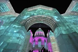 34th Harbin International Ice and Snow Sculpture Festival begins in China