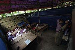 Indonesian students in Banten