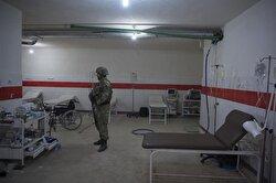 القوات التركية تعثر على قسم خاص لمعالجة الارهابيين في مستشفى عفرين