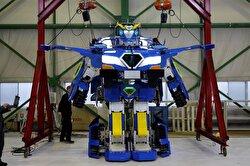 Robot transforms into car