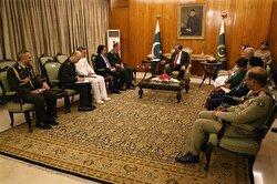 Pakistani president welcomes Turkish military chief
