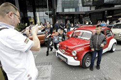 The 16th World Vintage Automobile and Motorcycle show is being held in the Bosnian capital of Sarajevo this year as car lovers gather to browse rare models showcased during the show.