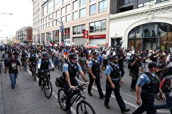 Anti-violence protesters block major Chicago highway
