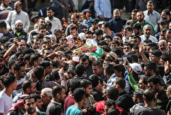 Funeral Ceremony of Palestinian in Gaza