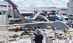 The model of the TF-X war jet, which took five months to build by the Turkish Aerospace Industries (TAI), garnered a great deal of attention at the fair.       Turkey is the fourth country with the technology to manufacture fifth generation aircraft, following the U.S., Russia and China.
