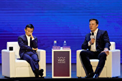Tesla Inc CEO Musk and Alibaba Group Holding Ltd Executive Chairman Ma attend the World Artificial Intelligence Conference in Shanghai