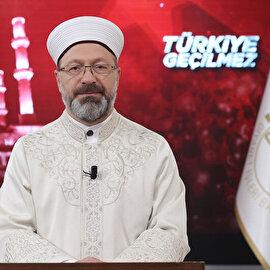 Diyanet İşleri Başkanı Erbaş: FETÖ, terör şebekesidir