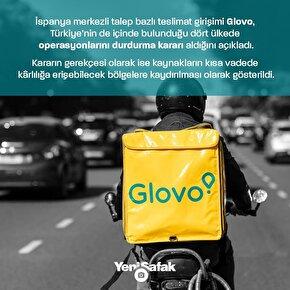 Glovo Türkiyeden çıkıyor