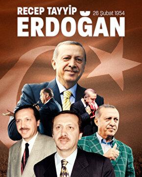 Dünden bugüne Erdoğan