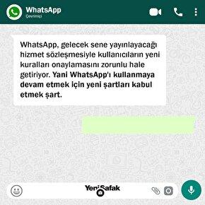 WhatsApp, 2021 itibariyle gizlilik kurallarını güncelliyor