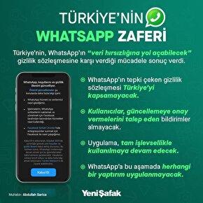 Türkiyenin WhatsApp zaferi