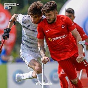 Milli takım  Avrupa Ampute Şampiyonasında Gürcistanı 10-0 mağlup etti