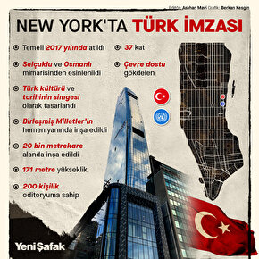 New Yorkta Türk imzası