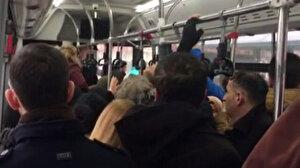 Yolculara küsen şoför dakikalarca otobüsü bekletti: Psikolojim bozuldu, otobüsü hareket ettirmiyorum