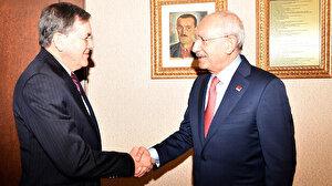Kılıçdaroğlu ABD'nin Ankara Büyükelçisi Satterfield ile görüştü