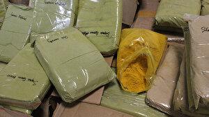 İstanbul Havalimanı'nda ABD'ye gidecek bir kargonun içinde 1 ton 745 kilo uyuşturucu ele geçirildi