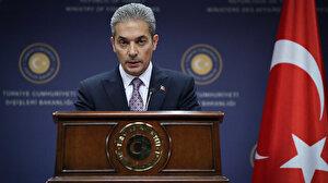 Dışişleri Sözcüsü Aksoy'dan AB'ye 'Libya mutabakatı' tepkisi: Yetkinizin dışında