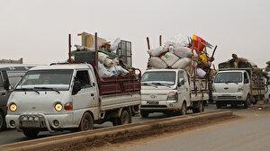 Esed rejiminin saldırılarından kaçan 27 bin sivil Türkiye sınırına göç etti