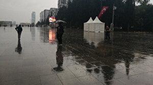 İstanbul'da yağmur başladı kar kapıya dayandı