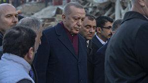 Cumhurbaşkanı Erdoğan: Zemin etütlerinden sonra inşaatlar yapılacak