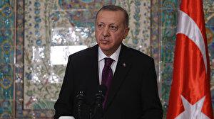 Cumhurbaşkanı Erdoğan Cezayir'de: Libya'da beraber hareket etmek için anlaştık