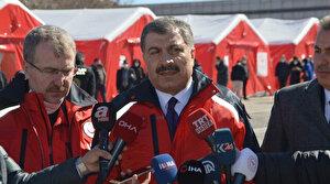 Sağlık Bakanı Fahrettin Koca: 18 kişi Doğubayazıt'taki hastanede gözlem altında