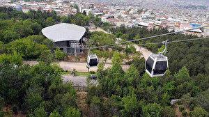 Bursa'da teleferik seferleri yine iptal edildi