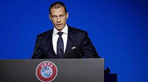 UEFA Başkanı Ceferin liglerin akıbetinin ne olacağını açıkladı: 3 ihtimal var