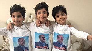Recep, Tayyip ve Erdoğan isimli üçüzlerden Cumhurbaşkanına mesaj