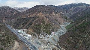 Dev projenin yüzde 67'si bitti: Zigana dağının kar, sis ve heyelan gibi olumsuzlukları sona erecek