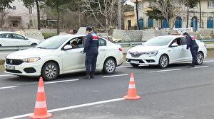 Silivri'den İstanbul'a giriş yapmak isteyen izinsiz araçlar geri çevriliyor