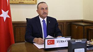 Çavuşoğlu 11 ülkeden mevkidaşıyla telekonferansla görüştü: Tıbbi malzemenin temin ve tedariki konularını değerlendirdik