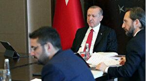 Cumhurbaşkanı Erdoğan, mevkidaşı Pendarovski ile telefonda görüştü