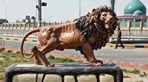 Irak'ta 65 bin dolara aslan heykeli: Yolsuzluk iddiası halkı ayaklandırdı