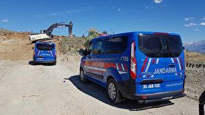 Erzincan'da inşaat kazısı sırasında insan kemikleri ve kafatası bulundu