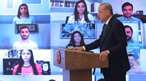 Cumhurbaşkanı Erdoğan gençlerle buluştu: Tütüne karşı mücadelenin detaylarını açıkladı