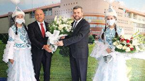 Ahmet Yesevi Üniversitesi Mütevelli Heyet Başkanlığında devir teslim töreni gerçekleşti