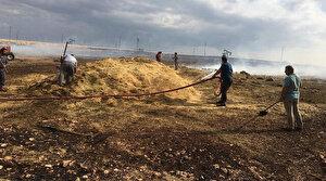 Siirt Kurtalan'da 2 köye yıldırım düştü: Yangın büyümeden söndürüldü