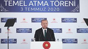 Cumhurbaşkanı Erdoğan'dan Ayasofya mesajı: Kimsenin Türkiye'deki ibadethanelere karışmaya hakkı yok