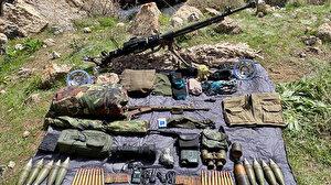 Pençe-Kaplan Operasyonu'nda PKK'ya darbe: Silah ve mühimmatlar ele geçirildi