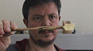 Bursalı usta ahşaptan kalem yapıp Hindistan'a tanesini 175 liraya satıyor