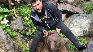 Artvin'de yavru ayıyı eziyet çektirerek öldüren vicdansız gözaltında