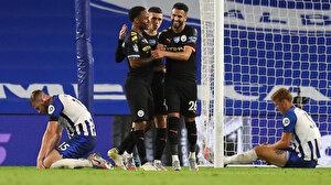 Manchester City deplasmanda Brighton'a gol yağdırdı