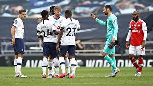 Premier Lig'de Londra derbisi Tottenham'ın (ÖZET)