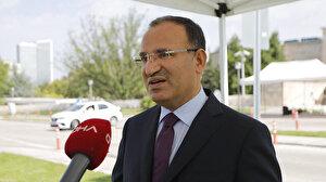 AK Parti'li Bekir Bozdağ: 'Sığınağa inersek vatandaş meydana çıkmaz' diye düşündüm
