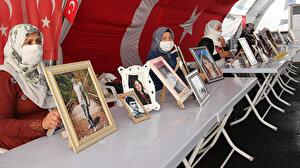 HDP önünde eylem yapan bir aile daha evladına kavuştu: Eylem yapan 15'inci aile, evladını terörün pençesinden kurtardı