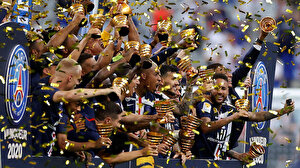 Fransa Lig Kupası'nı PSG kazandı (ÖZET)