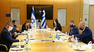 Türkiye'nin adımları sonrası Yunan bakan soluğu İsrail'de aldı
