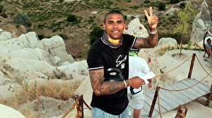 Juventus'un yıldız futbolcusu Douglas Costa Kapadokya'da