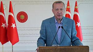 Cumhurbaşkanı Erdoğan, Kuzey Marmara Otoyolu'nun 5. etabını açtı